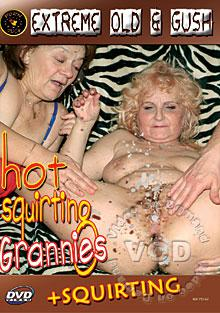 Hot Squirting Grannies Box Cover