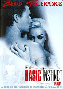 Official Basic Instinct Parody Box Cover