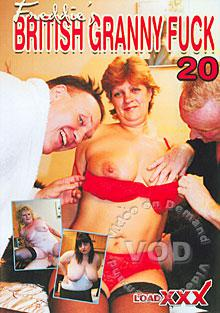 British Granny Fuck 20 Box Cover