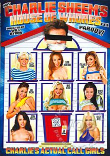 Not Charlie Sheem's House Of Whores XXX Box Cover