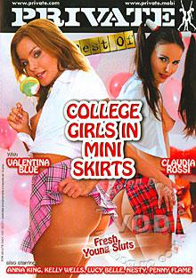 College Girls In Mini Skirts Box Cover