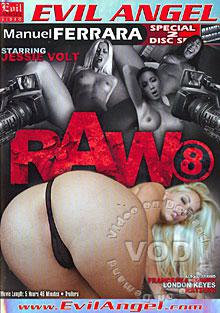 Raw 8 (Disc 2) Box Cover