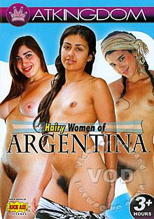 Hairy Women Of Argentina Box Cover