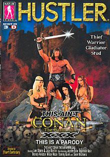 This Ain't Conan The Barbarian XXX Box Cover