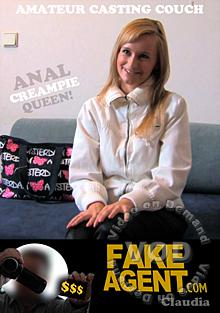 Fake Agent Presents - Claudia - Anal Creampie Queen Box Cover