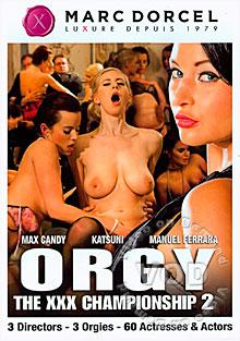 Orgy: The XXX Championship 2 Box Cover