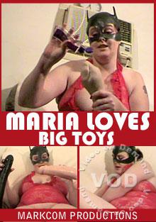 Maria Loves Big Toys Box Cover