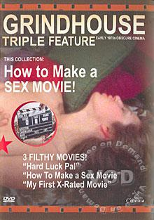 How To Make A Sex Movie - Remastered Grindhouse Edition Box Cover