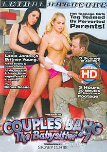 Couples Bang The Babysitter #7 Box Cover