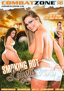 Smoking Hot Latinas #5 Box Cover