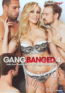 Gangbanged 4 Box Cover