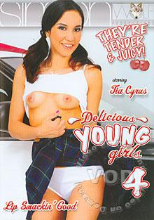 Delicious Young Girls 4 Box Cover