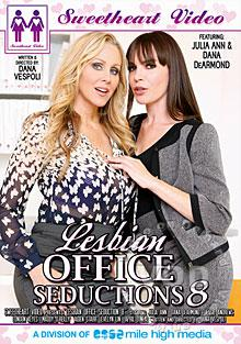Lesbian Office Seductions 8 Box Cover
