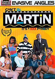 Can't Be Martin - It's A XXX Parody Box Cover