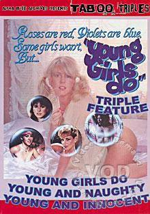 Young Girls Do Triple Feature - Young And Innocent Box Cover
