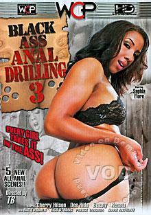 Black Ass Anal Drilling 3 Box Cover