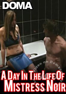A Day In The Life Of Mistress Noir Box Cover
