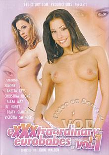 eXXXtraordinary Eurobabes  vol. 1 Box Cover