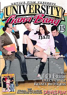 University Gang Bang 15 Box Cover