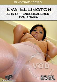 Eva Ellington Jerk Off Encouragement Pantyhose Box Cover